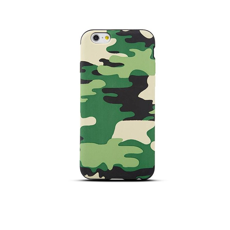 iPhone 6 - Housse Silicone Motif Camouflage