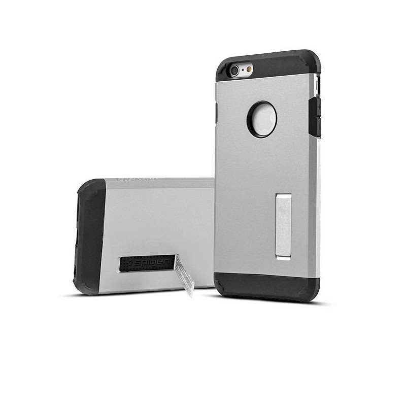 iPhone 6 Plus - Coque Armor Double Protection - Argent