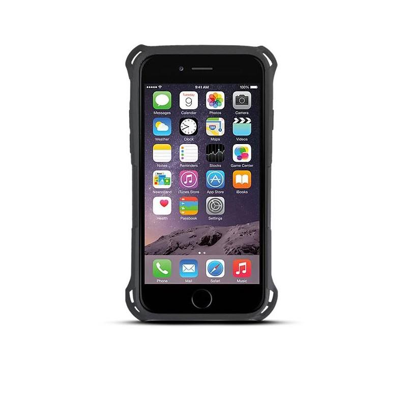 iPhone 6 - Coque Anti-Choc Double Matière - Noir