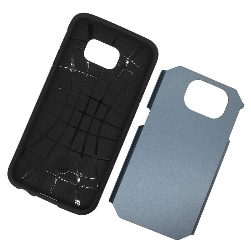 Galaxy S6 - Coque Armor Double Protection - Bleu Pétrole