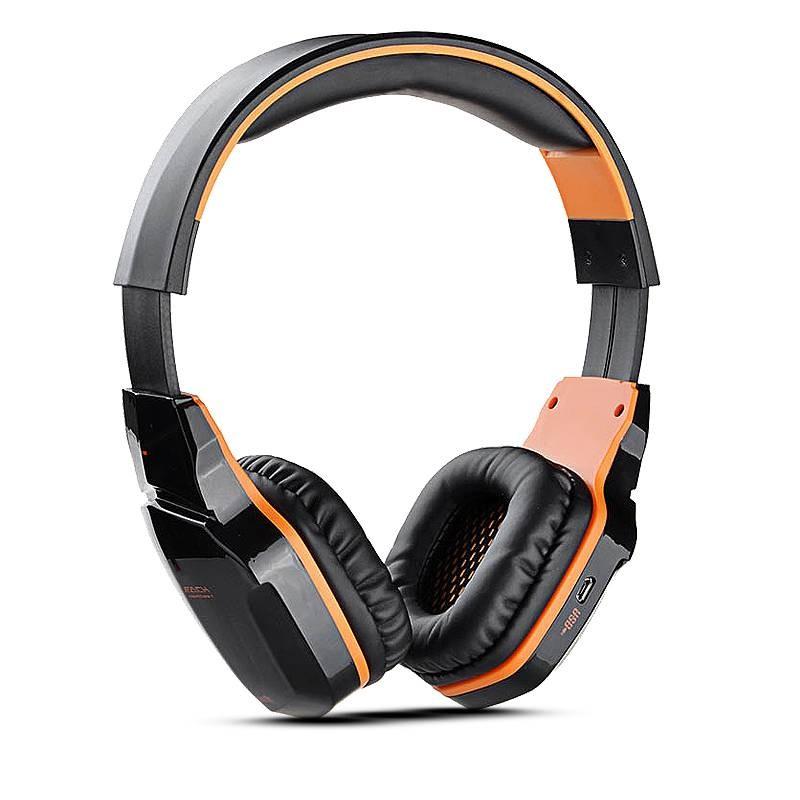 Casque Gaming Bluetooth KOTION EACH B3505 - Microphone Intégré - Réglages sur Ecouteurs - Bluetooth 4.0 - NFC