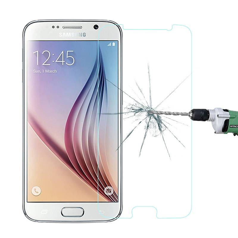 Galaxy S6 - Protection d'Écran en Verre Trempé - Anti-Rayure - Anti-Casse - Transparent