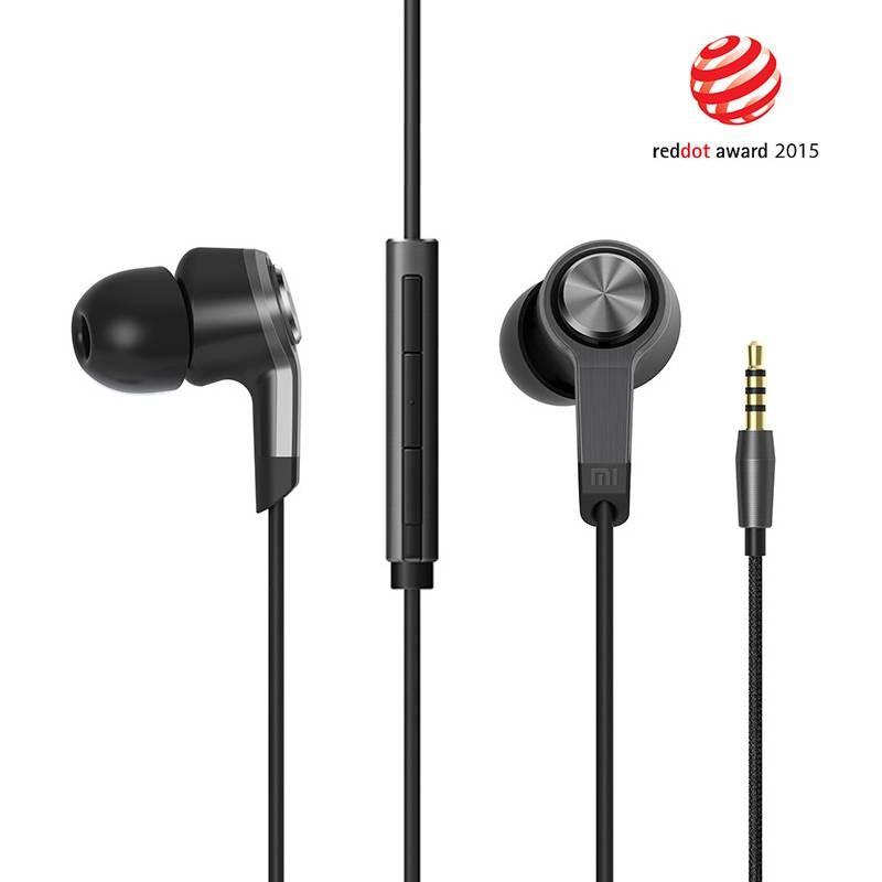 Écouteurs XIAOMI Piston 3 Intra-Auriculaires - Télécommande & Microphone Intégrés - Câble Kevlar Anti-Emmêlement - Noir