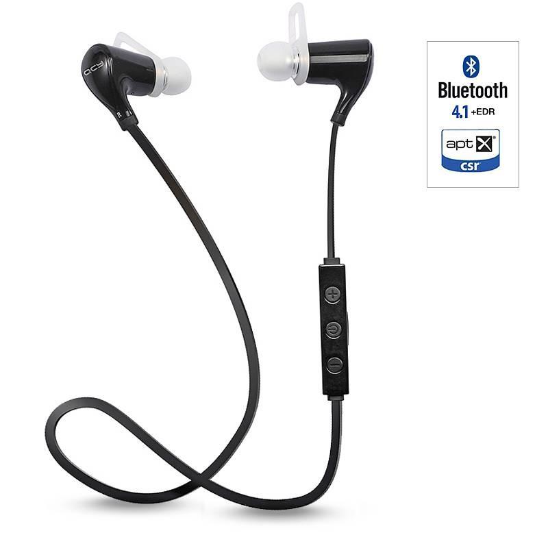 Écouteurs Bluetooth APTX QCY QY5 - Microphone et Réglage du Volume Intégrés