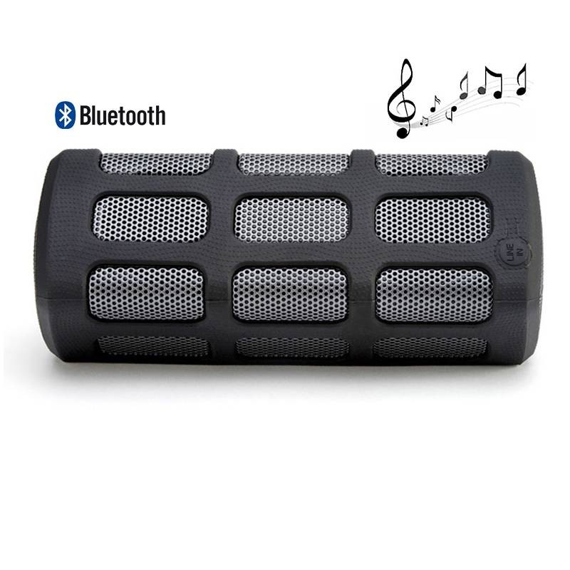 Enceinte Bluetooth Etanche Anti-Choc DITTER S33 -  avec Fonction Batterie de Secours 7000 mAh