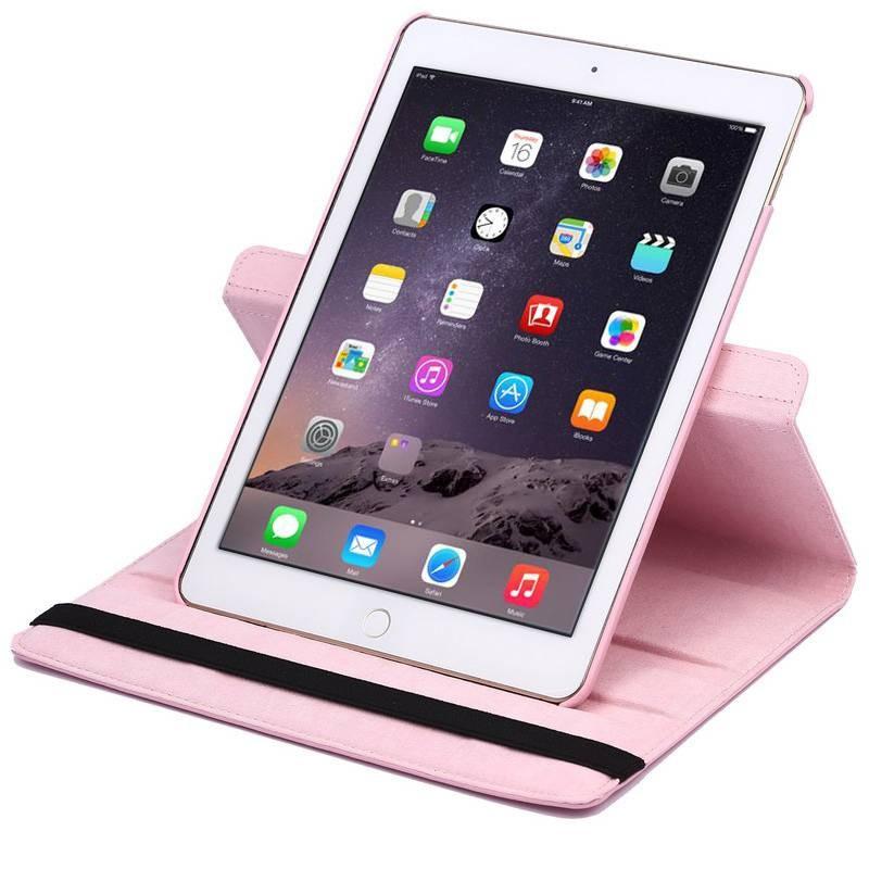 iPad Air 2 - Étui Inclinable Rotatif - Rose