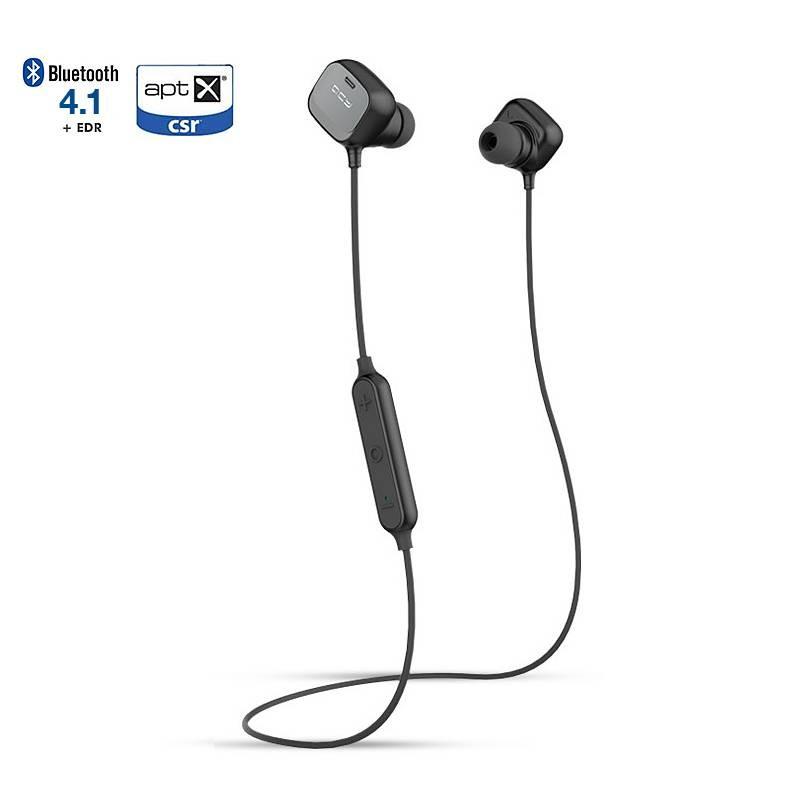 Écouteurs Bluetooth APTX QCY QY12 - Microphone et Réglage du Volume Intégrés