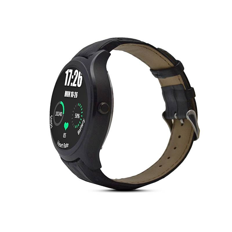 "Montre Connectée NO.1 D5 - Écran 1,3"" - WiFi - Bluetooth - Fréquence Cardiaque - Notifications - Compatible Apple iOS et Android"