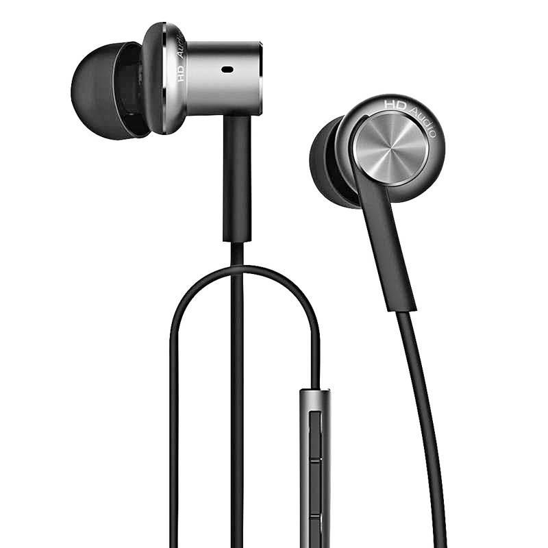 Écouteurs XIAOMI Mi In-Ear Pro - Télécommande & Microphone Intégrés - Câble Kevlar Anti-Emmêlement - Noir