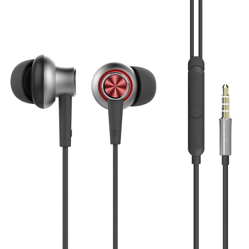 Écouteurs Intra-Auriculaires ROCK Y5 - Télécommande & Microphone Intégrés - Caisson Métal - Câble Anti-Emmêlement