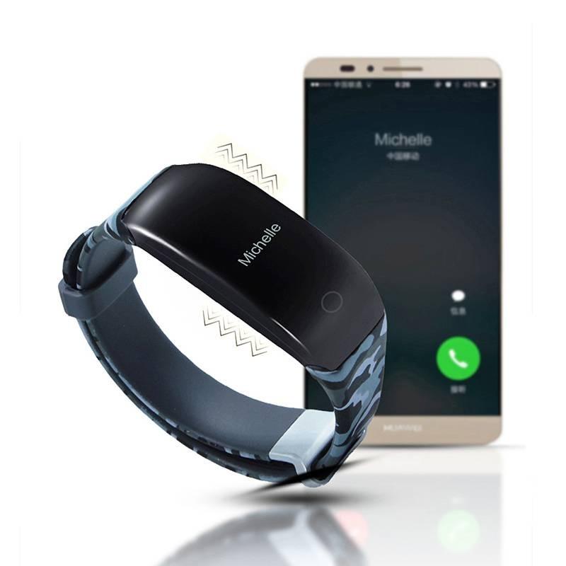 Bracelet Connecté H5 - Traqueur d'Activité Spécial Natation - Cardiofréquence - Podomètre - Compatible iOS & Android
