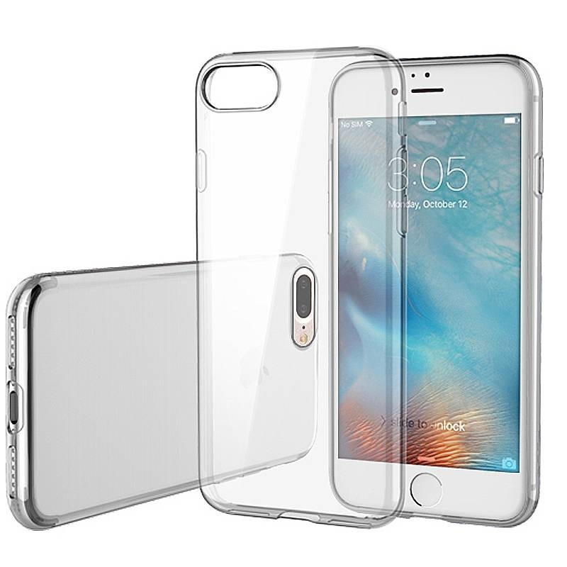iPhone 7 Plus & 8 Plus - Coque TPU ROCK Transparente