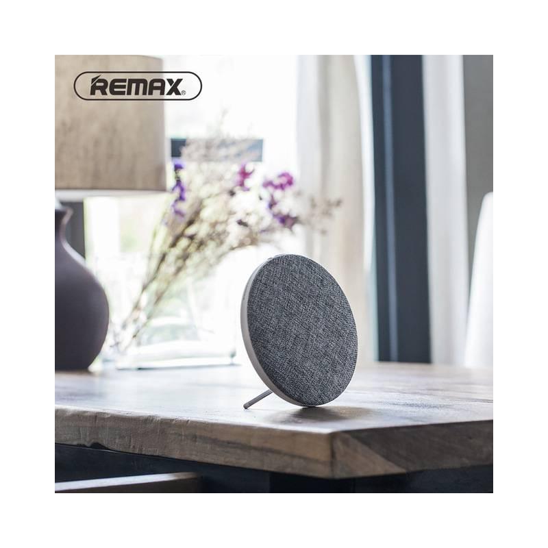 Enceinte Bluetooth REMAX RB-M9 - Double Haut-Parleurs - Subwoofer - Microphone Intégré - Son HD