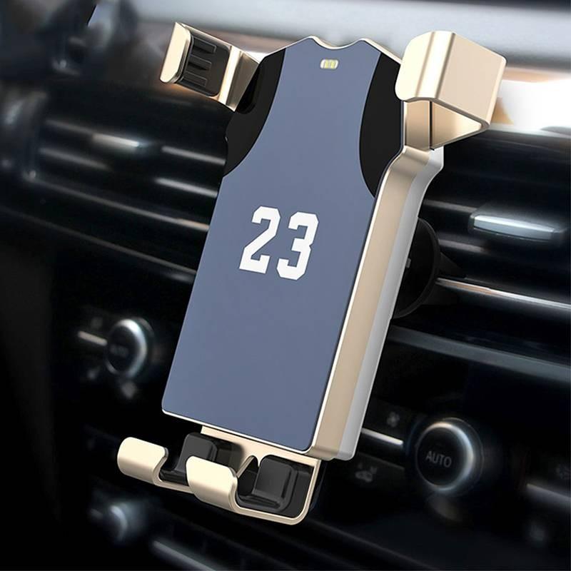 Chargeur Qi HAMTOD pour voiture - 10W - Rechargement Sans Fil Induction  - Largeur de 62 à 86 mm