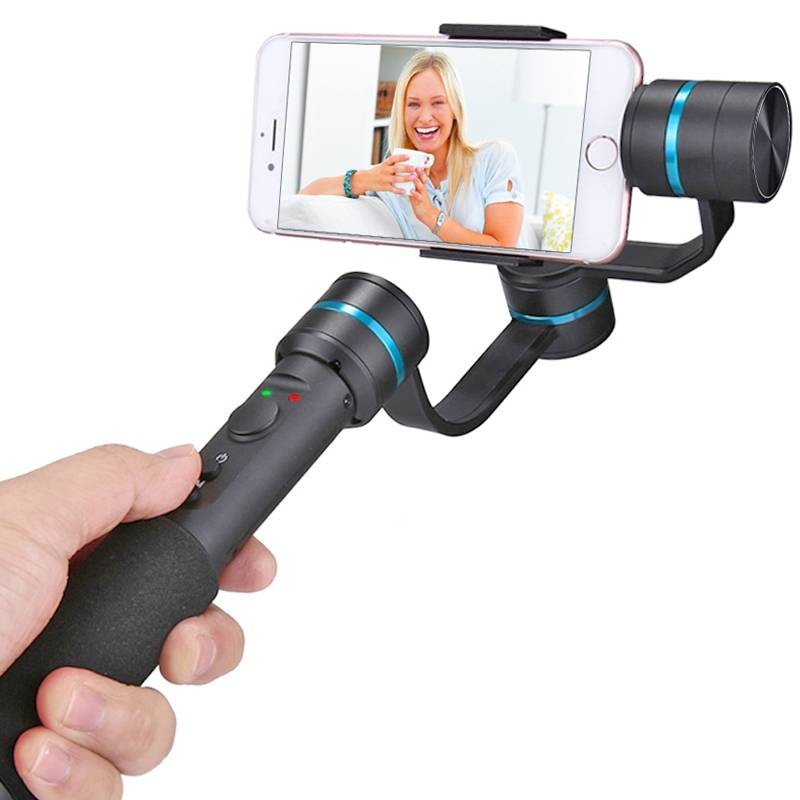 """Stabilisateur Photo/Vidéo 3 axes PULUZ G1 - Connexion Bluetooth - Joystick - Batterie Intégrée - Pour smartphone jusqu'à 6"""""""