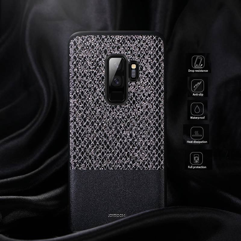 "Galaxy S9 - Coque JOYROOM ""Dazzling Series"" - Revêtement à Paillettes"