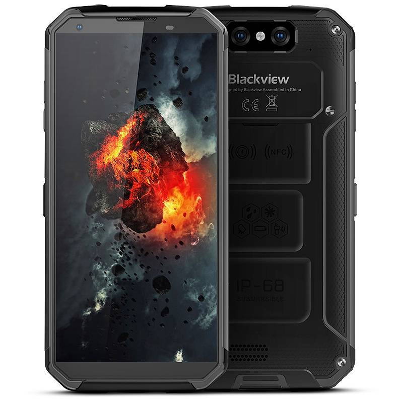 Smartphone 4G TriProof BLACKVIEW BV9500 Écran 5,7' FHD OctaCore Ram 4GB Rom 64GB WiFi Bluetooth NFC Batterie 10000mAh