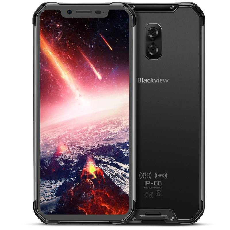 BLACKVIEW BV9600 Pro - Écran 6,21' AMOLED FHD+ OctaCore Ram 6GB Rom 128GB WiFi Bluetooth NFC  Dual Cam Face ID