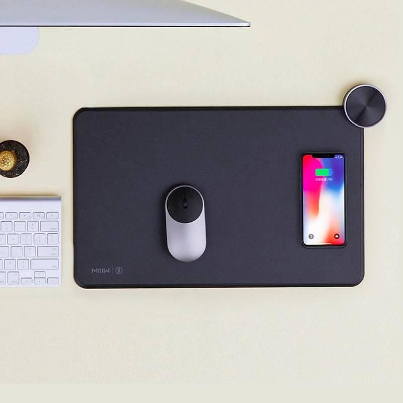 Tapis de Souris XIAOMI SmartPad MIIIW - Chargeur Sans Fil par Induction - Connexion Bluetooth 4.1