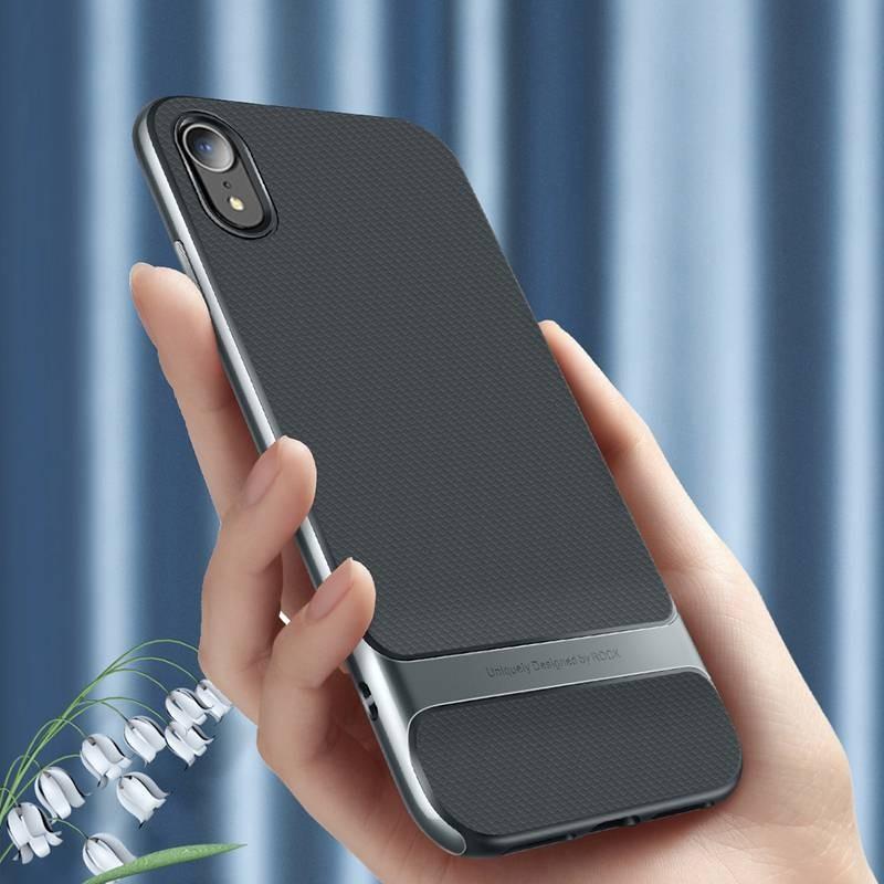 iPhone XR - Coque ROCK Royce Series - Double Matière Double Couleur