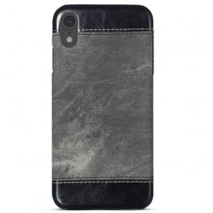 iPhone XR - Coque Imitation Jean Denim