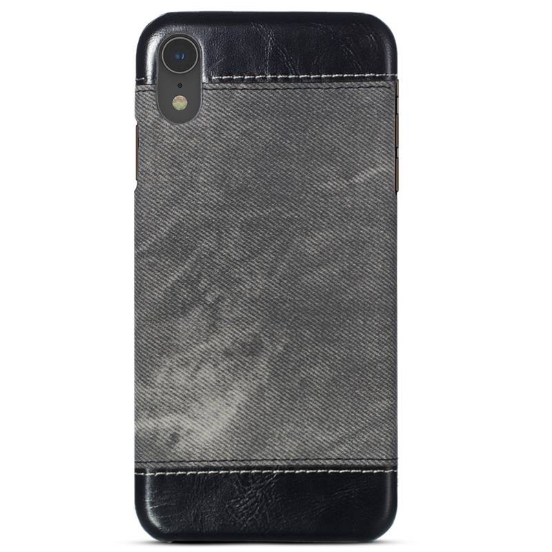 iPhone XR - Coque Imitation Jean Denim