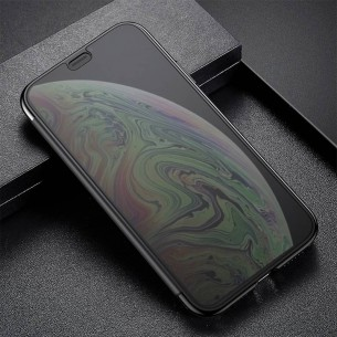 "iPhone X & XS - Étui Flip Cover Translucide BASEUS ""Touchable Case"""