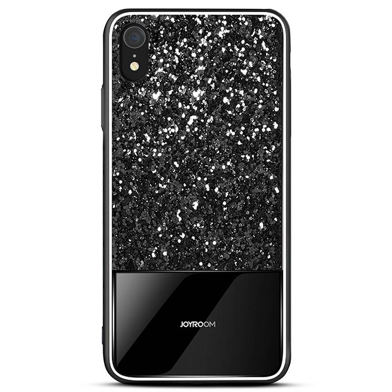 "iPhone XR - Coque JOYROOM ""Dazzling Series"" - Revêtement à Paillettes"