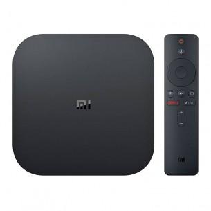 XIAOMI MI BOX S 4K Ultra HD - Android 8.1 - Chromecast & Google Assistant - Accès direct Netflix - Quad-core - RAM 2GB ROM 8GB