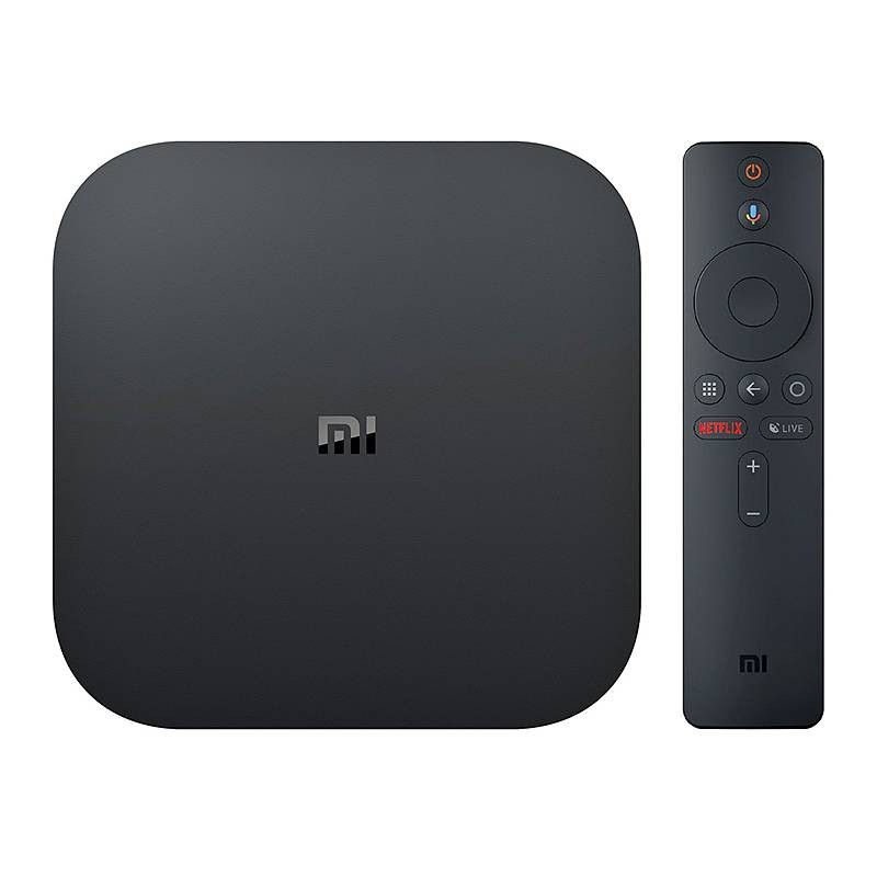 XIAOMI MI BOX S 4K Ultra HD - Android 8.1 - Chromecast & Google Assistant - Accès direct Netflix - Quad-core - RAM 2GB ROM 8GB