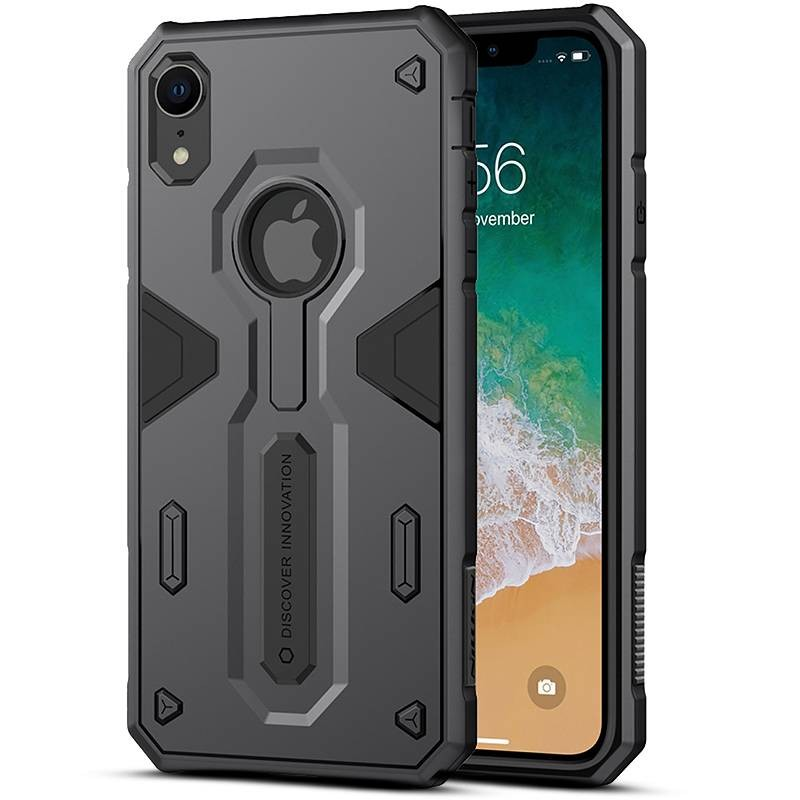 "iPhone XR - Coque NILLKIN ""Defender"" - Double Matière Bicolore"