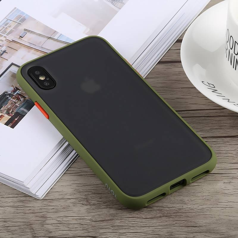 iPhone X & XS - Coque TOTU DESIGN Gingle Series - Double Matière Polycarbonate & Silicone