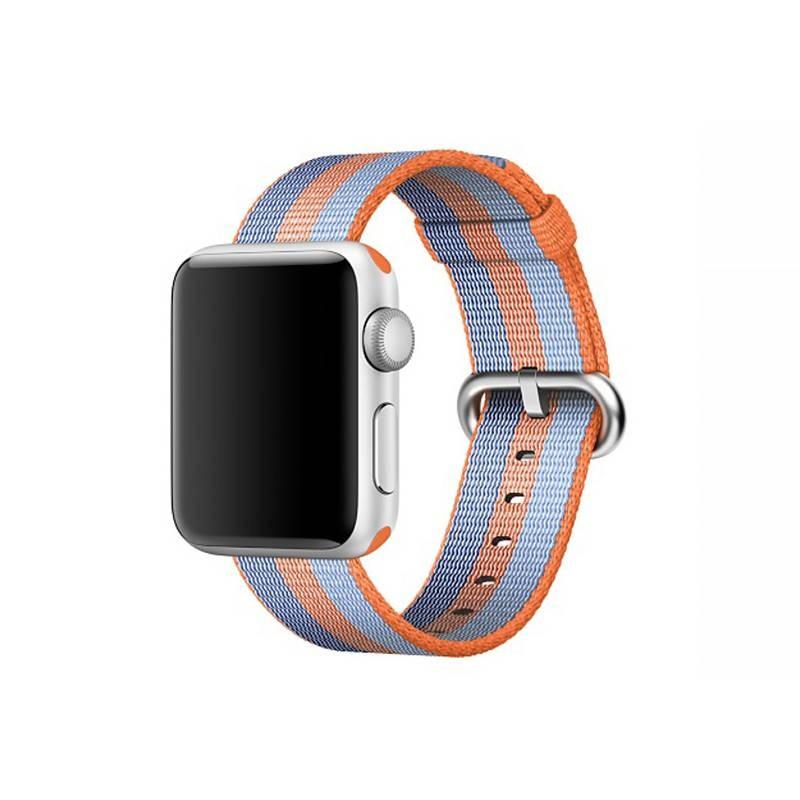 Bracelet Nylon pour Apple Watch - Fermeture par Boucle - Orange