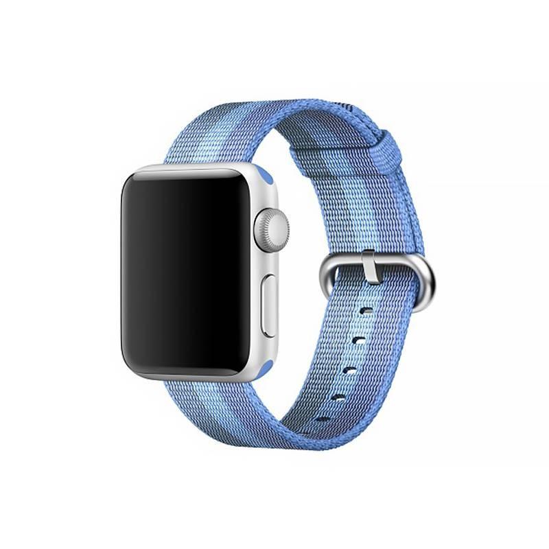 Bracelet Nylon pour Apple Watch - Fermeture par Boucle - Bleu