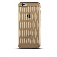"iPhone 6 - Housse TPU Baseus ""AirBag"" - Gold Champagne"