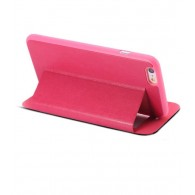iPhone 6 Plus - Etui Double Fenêtre d'Appel - Rouge