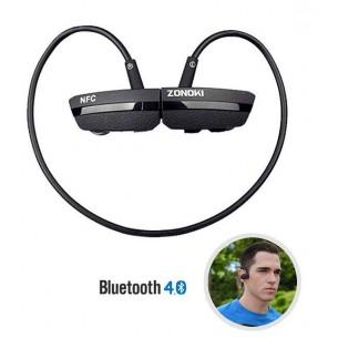 Écouteurs Bluetooth ZONOKI B97S - Microphone et Réglage du Volume Intégrés - Bluetooth 4.0 - NFC -Noir