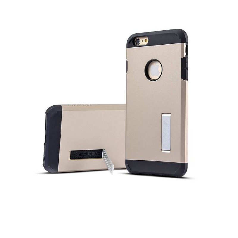 iPhone 6 Plus & 6S Plus - Coque Armor Double Protection - Gold Champagne