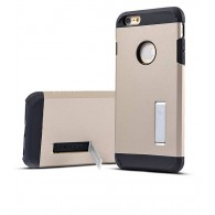 iPhone 6 Plus - Coque Armor Double Protection - Gold Champagne