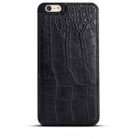 iPhone 6 Plus - Coque Imitation Crocodile - Noir