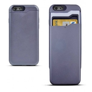 iPhone 6 - Coque Porte CB - Anthracite