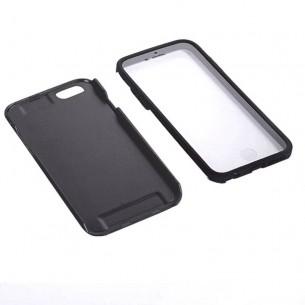 iPhone 6 Plus - Coque Intégrale Avant Arrière Ultra Slim - Noir
