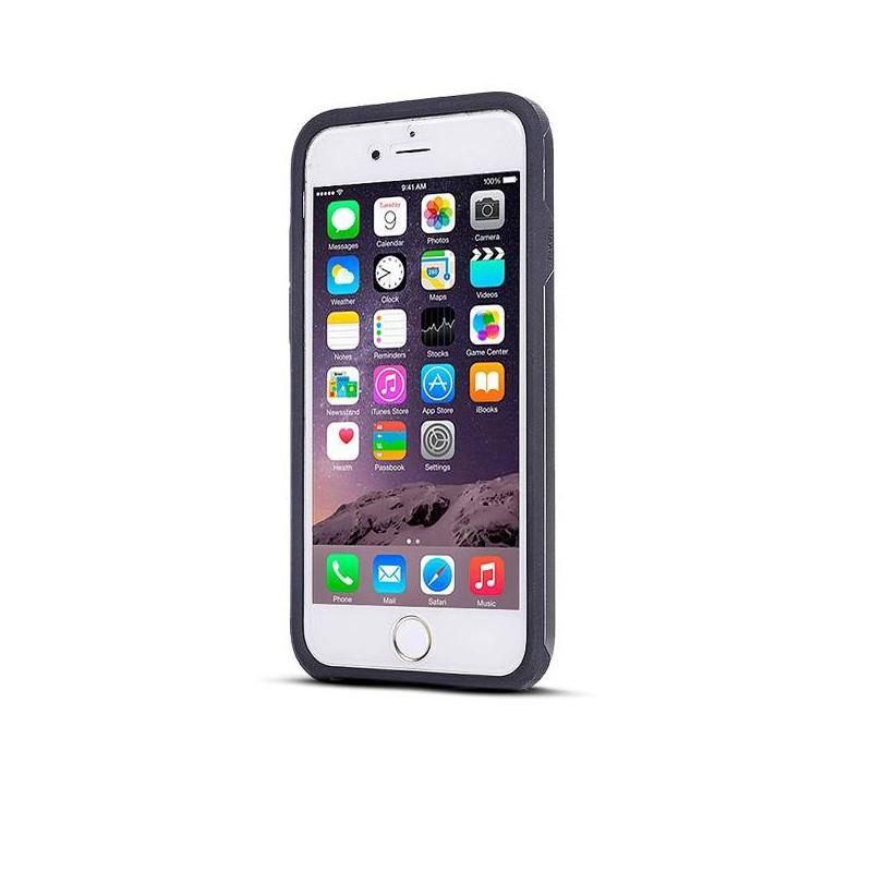 iPhone 6 Plus & 6S Plus - Coque Intégrale Avant Arrière Ultra Slim - Noir