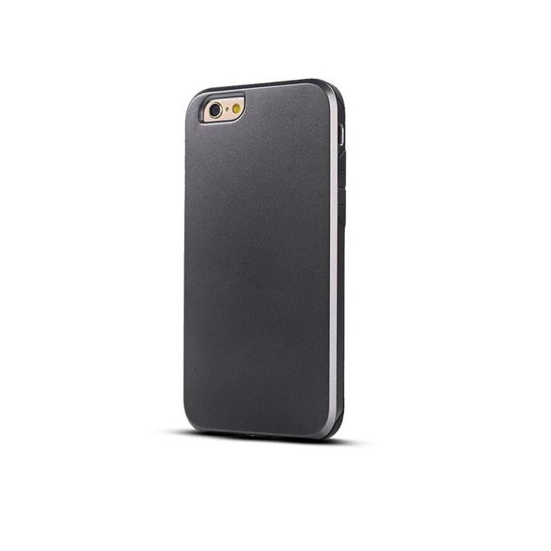 iPhone 6 - Coque Intégrale Avant Arrière Ultra Slim - Noir