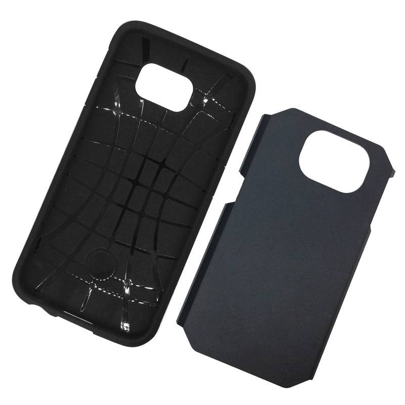 Galaxy S6 - Coque Armor Double Protection - Noir