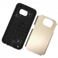 Galaxy S6 - Coque Armor Double Protection - Gold