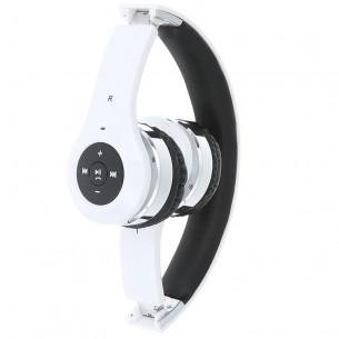Casque Arceau Bluetooth New Bee - Microphone Intégré - Réglages du Volume et des Plages Musicales sur Ecouteur