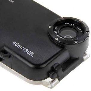 iPhone 6 Plus - Caisson Étanche Transparent pour Prises de Vues Sous-Marines - Étanche jusqu'à 40 Mètres