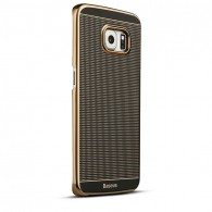 Galaxy S6 Edge - Coque Ultra-Slim Baseus Ambilight - Gold