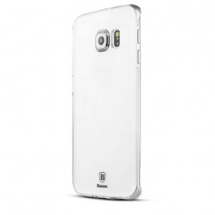 "Galaxy S6 Edge - Coque Transparente Ultra-Slim Baseus ""SKY Series"""